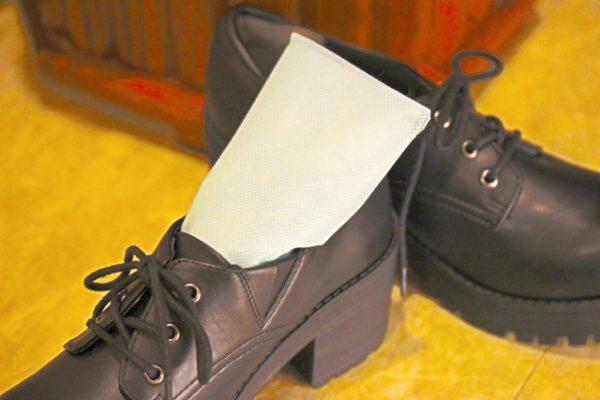 靴のニオイ対策