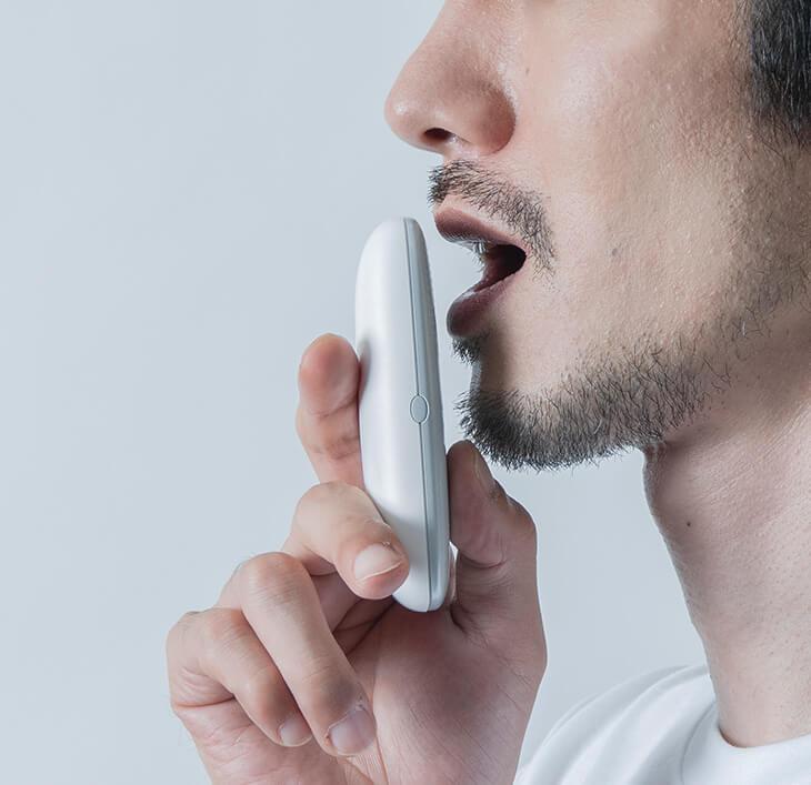 クンクンボディで口臭を測る